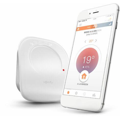Thermostat connecté radio io Somfy - 2401499