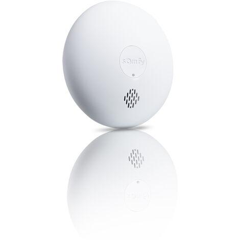 Détecteur de fumée connecté pour alarme Somfy Protect - 1870289 - Blanc