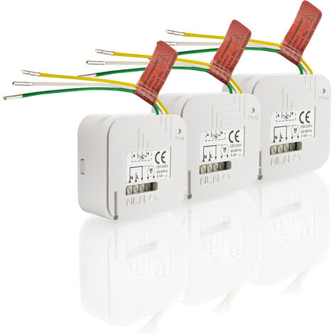3 micro-récepteurs Somfy RTS pour volets roulants - 1870858