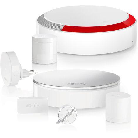 Somfy Home Alarm Starter Pack, alarme connectée avec accessoires additionnels - 1875248