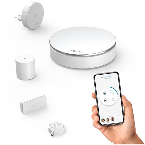 Somfy Home Alarm Starter Pack, système d'alarme connecté - 2401511