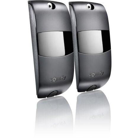 Jeu de cellules photoélectriques Somfy pour moteur de portail ou porte de garage - 2400939