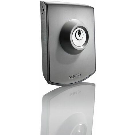 Commande à clé filaire Somfy pour moteur de portail ou porte de garage - 2400597