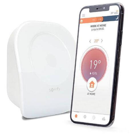 Thermostat connecté radio io Somfy V2 - 1870775