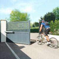 Motorisation de portail battant à vérin Somfy SGS Essential avec batterie de secours - 1241522