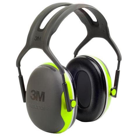 Protector oidos Peltor X4A GB diadema alta atenuación 33dB 3M