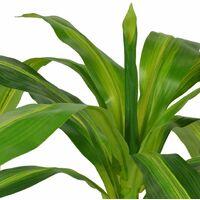 Plante artificielle avec pot Dracaena 100 cm Vert