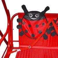 Siège balançoire pour enfants Rouge
