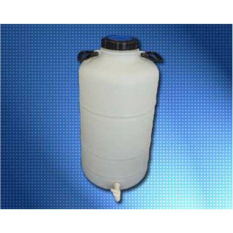 BIDON PLASTICO C/GRIFO BOCA 15 50L..
