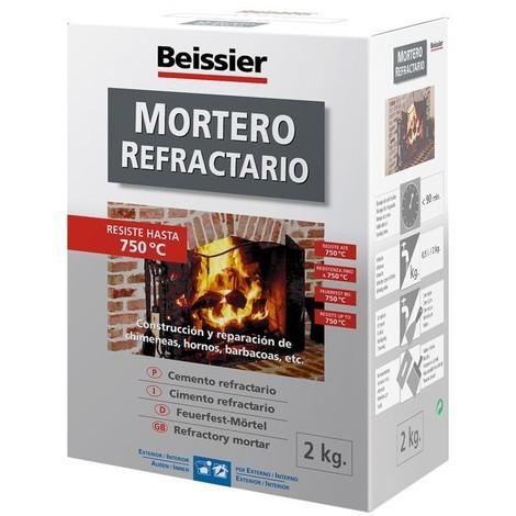 Mortero Refractario - BEISSIER - 768 - 2 KG..