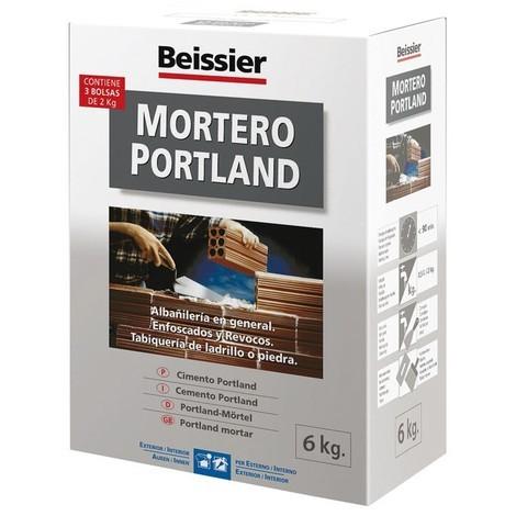 Mortero Portland - BEISSIER - 766 - 6 KG..