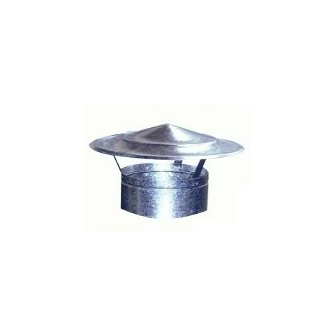 Sombrerete Fijo Chino Galvaniz - EXOJO - 861100 - 110 MM..