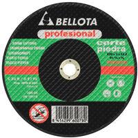 Disco Radial Amoladora Corte Piedra Pro - BELLOTA - 50302 - 125X3 MM..