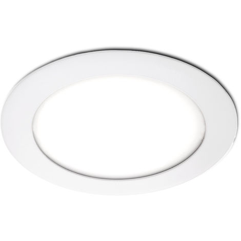 Placa de LEDs Circular 120Mm 6W 400Lm 30.000H | Blanco Frío (JL-GP-LZ-1)