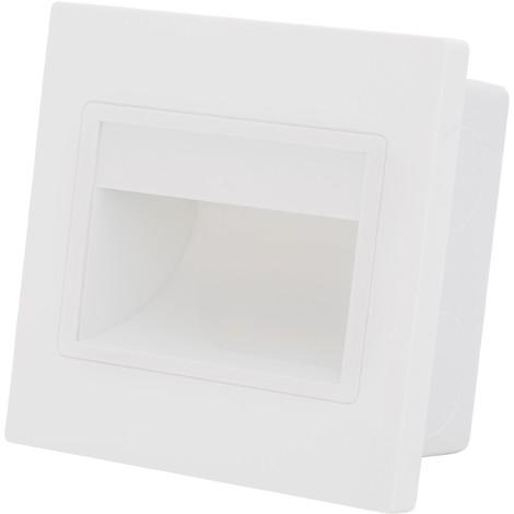 Luz LED Empotrar IP 40 1,5W 165Lm 30.000H Melody | Blanco Natural (PT-W15B001-W)
