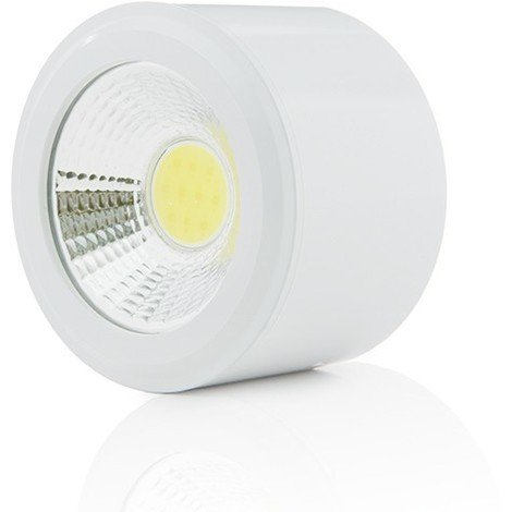 Foco Downlight LED de Superficie COB Circular Blanco Ø68Mm 5W 450Lm 30.000H | Blanco Frío (BF-MZ5001-5W-W-CW)