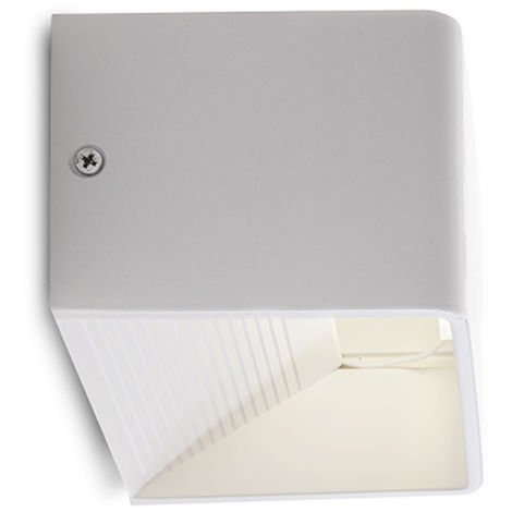 Aplique de Pared LED 5W 500Lm Blanco Sophia [HO-ARCHBRIDGE- 5W-W-W] | Blanco Cálido (HO-ARCHBRIDGE- 5W-W-W)
