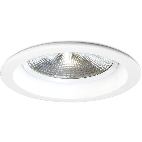 SuperSlim LED spot instalación emisor 5w 230v orientable lámpara de instalación acero inoxidable