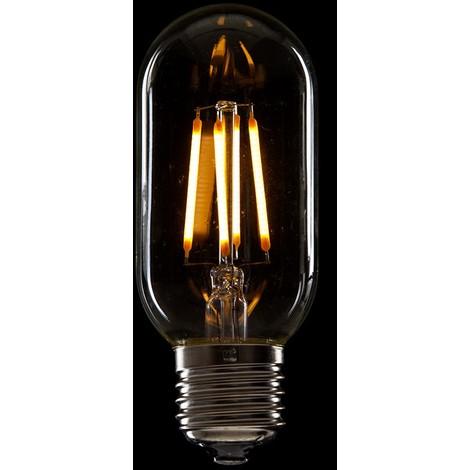 Bombilla de LEDs Filamento Vintage T45 E27 4W 400Lm [WO-LF-T45-E27-4W-WW]   Blanco Cálido (WO-LF-T45-E27-4W-WW)