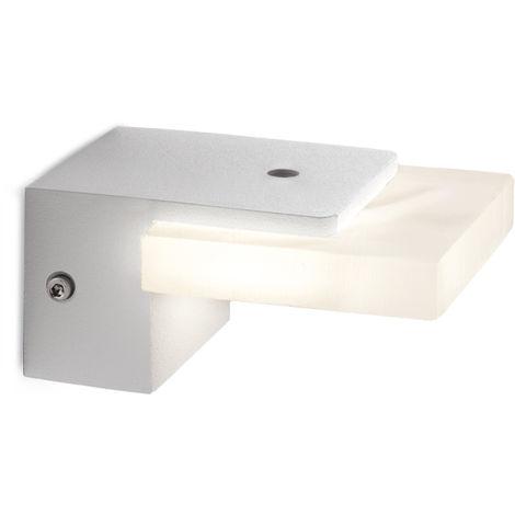 Aplique de Pared LED 5W 500Lm Blanco Charlotte [HO-WL-102-5W-W-W] | Blanco Cálido (HO-WL-102-5W-W-W)