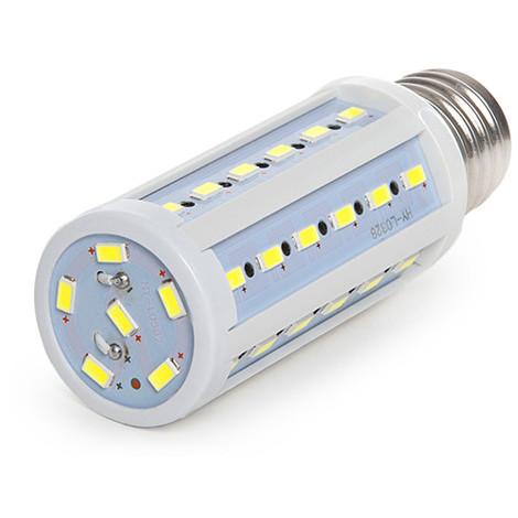 Bombilla de LEDs E27 12V Ac/Dc 5050SMD 8W 640Lm 30.000H   Blanco Frío (CA-5050-12V-8W-CW)