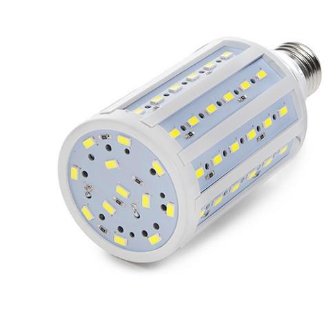 Bombilla de LEDs E27 12V Ac/Dc 5050SMD 15W 1200Lm 30.000H | Blanco Frío (CA-5050-12V-15W-CW)