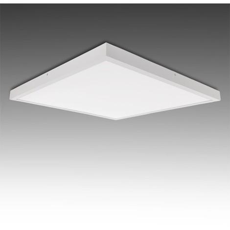 Plafón LED Cuadrado Superficie 600X600Mm 36W 2700Lm 30.000H | Blanco Frío (GR-MZMD02-36W-CW)