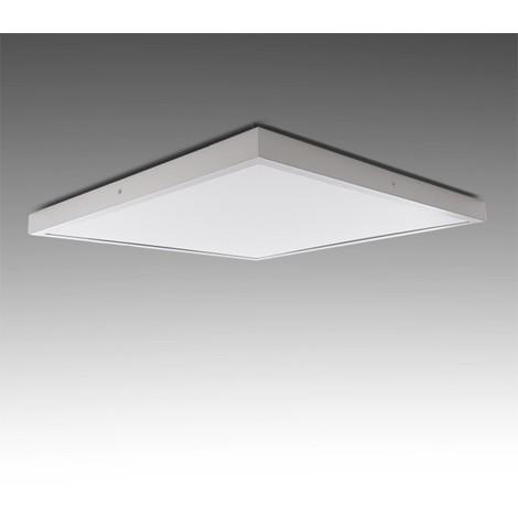 Plafón LED Cuadrado Superficie 600X600Mm 48W 3600Lm 30.000H   Blanco Frío (GR-MZMD02-48W-CW)