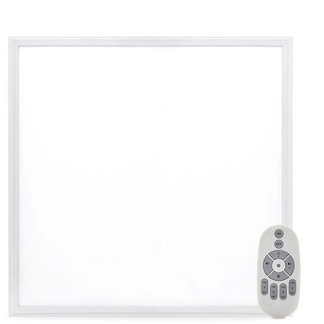 Panel LED 60x60Cm Marco Blanco Mando a Distancia (Intensidad-Cct) 36W 2380Lm 30.000H (HO-PANMB59559536W-RC)