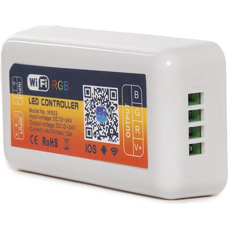 Controlador Wifi Tira LED RGB - Compatible Alexa (CA-WS03)