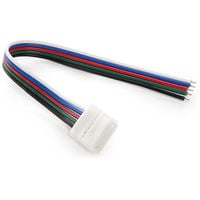 Conector Tira LED RGBw Simple con Cable (CA-CON-RGBW-S-C)