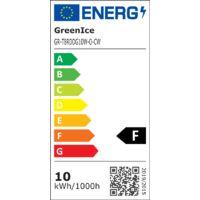 Tubo LED 60Cm T8 Cabeza Rotatoria 10W 1000Lm 30.000H | Blanco Frío - Transparente (GR-T8RDDG10W-O-CW)