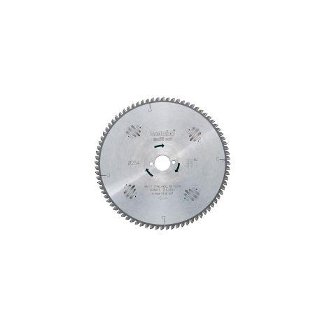 Lame de scie circulaire HW/CT METABO - 216 x 30 mm - 64 dents - denture plate et trapézoïdale - 10° - 628063000