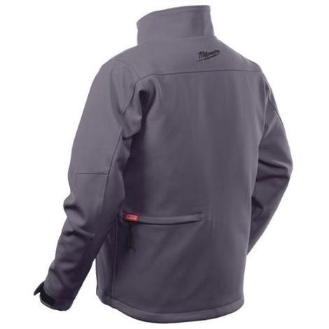 Blouson chauffant gris M12HJGREY4-0 MILWAUKEE - sans batterie ni chargeur - taille M - 4933464329