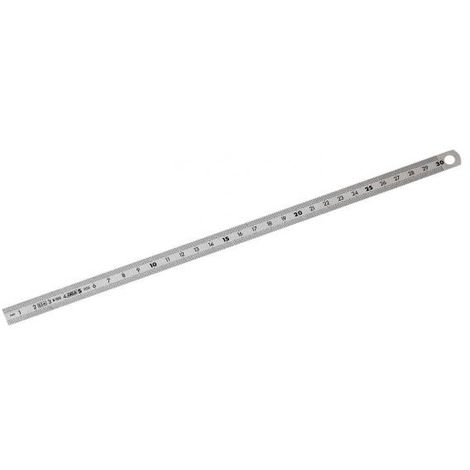 Réglet métrique inox 2 faces FACOM 200 mm - DELA.1051.200