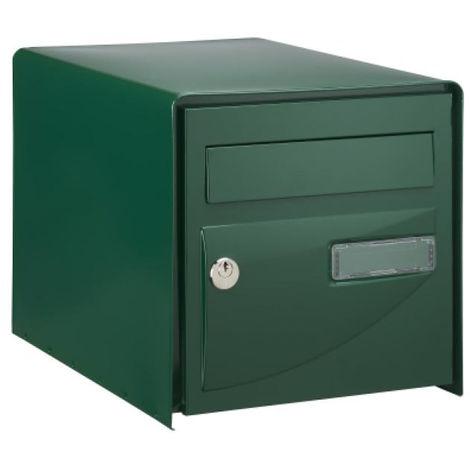 Boite à lettres Probat Verte simple face DECAYEUX - Code clé 3 - 125963