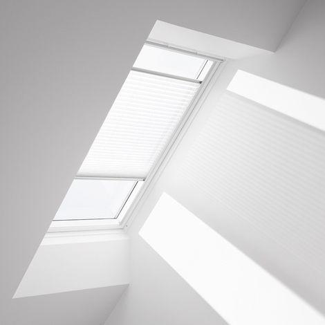 Store plissé Blanc VELUX - FHL M04 1016