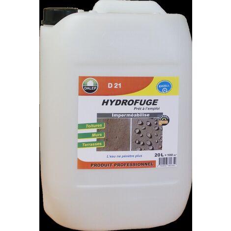 Hydrofuge et Oleofuge DALEP D21 - Prêt à l'emploi Bidon de 200 Litres - 221200