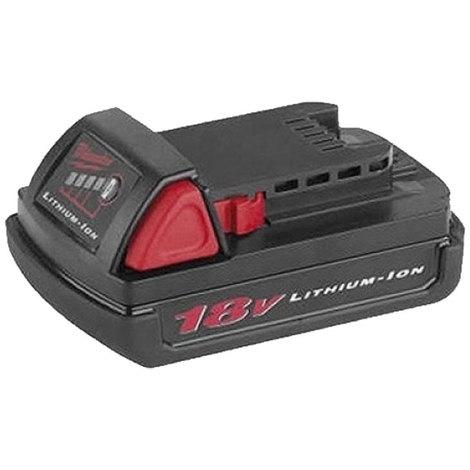 Batterie MILWAUKEE 18V 1.5Ah Li-Ion REDLITHIUM - 4932352667