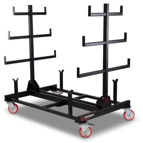 Rack mobile 1 tonne Piperack ARMORGARD 1000x1500x1560 mm - PR1