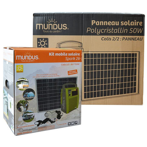 Coffret photovoltaïque