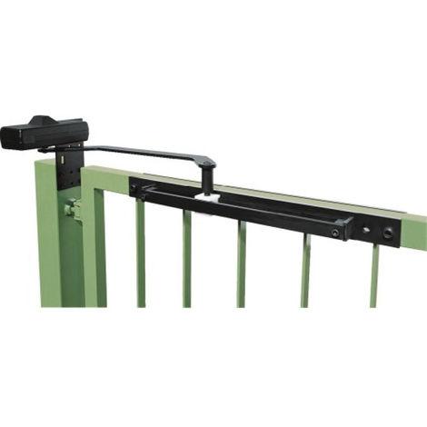 Ferme portail DC620 réversible Noir ASSA ABLOY pour porte 1000 mm - DC620G-9004