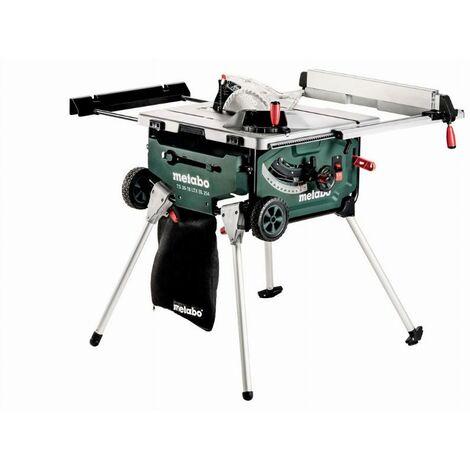 Scie sur table METABO - TS 36-18 LTX BL 254 4 x 8,0 Ah LiHD, 2 x ASC 145, coffret Metaloc - 613025810