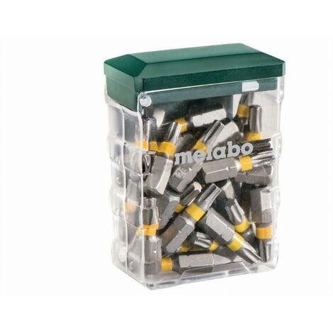 Boîte d'embouts T20 SP 25 pièces METABO - 626712000
