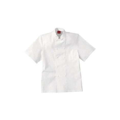 Veste de cuisine blanche 100% coton LAFONT - Taille 4 (52-54) - 2FCA00COBLANCT4