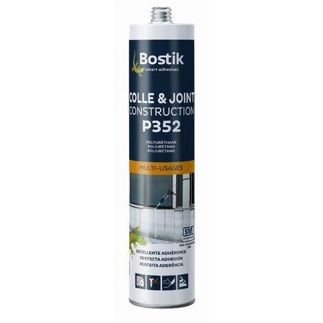Colle et joint Multi-usage P352 BOSTIK Gris béton - 30615847