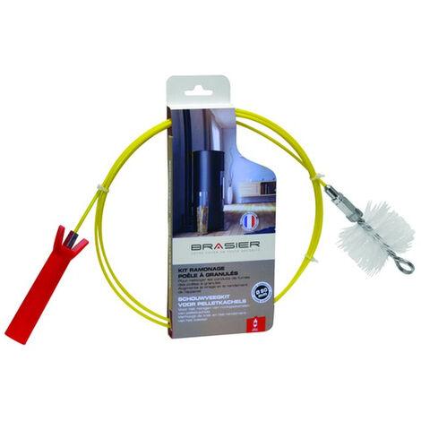 Kit de ramonage ISOTIP - Special pellets - Flexible Brosse nylon Ø80 mm - 001817