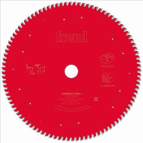 Lame pour scie circulaire portative sans fil FREUD - Ø305 2,4/1,8 AL30 Z96 TP 0° - F03FS10091 -FR29A004MC