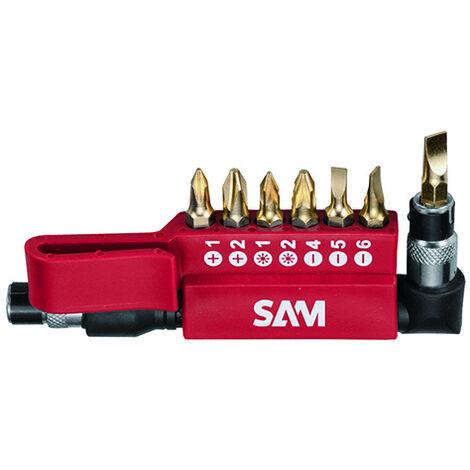 Coffret 23 embouts torx plus et adaptateurs SAM - EMB7