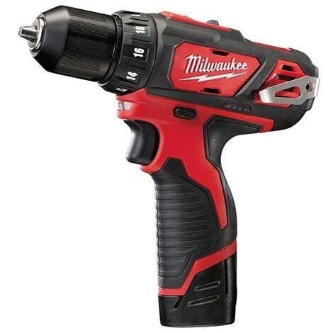 Perceuse visseuse MILWAUKEE M12 BDD-202X - 2 Batteries 12V 2.0Ah + chargeur + coffret Dynacase - 4933446040